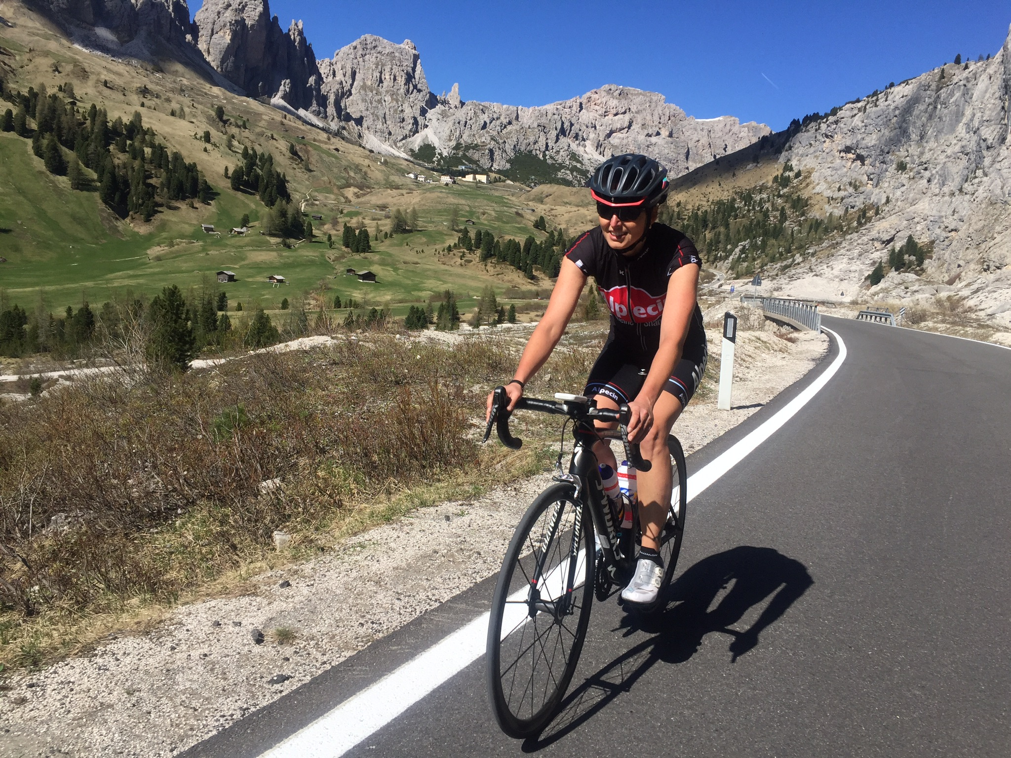 Training in den Dolomiten